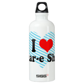 I Love Mazar-e Sharif, Afghanistan Aluminum Water Bottle