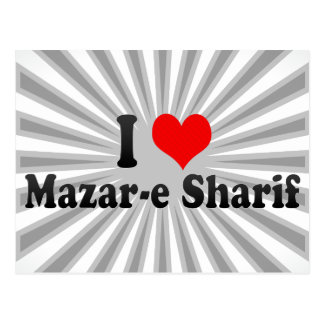 I Love Mazar-e Sharif, Afghanistan Postcard