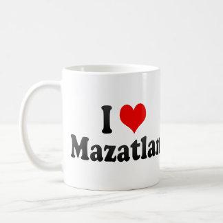 I Love Mazatlan, Mexico Coffee Mug