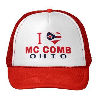 I love Mc Comb, Ohio Trucker Hat