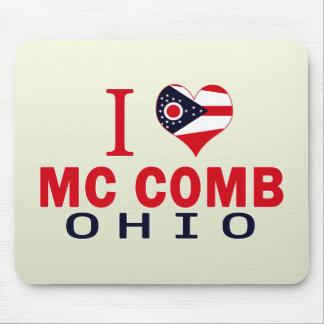 I love Mc Comb, Ohio Mousepad