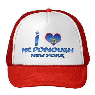 I love Mc Donough, New York Trucker Hat