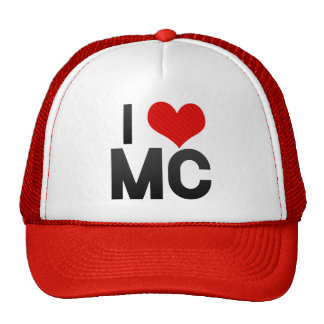 I Love MC Trucker Hat