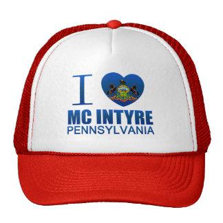 I Love Mc Intyre, PA Trucker Hat
