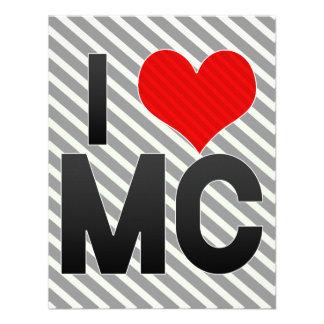 I Love MC Invitation