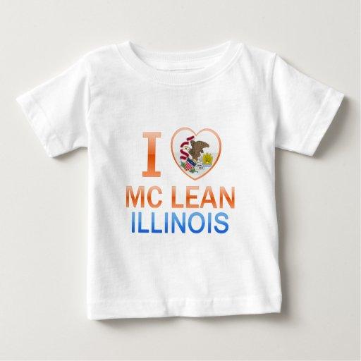 I Love Mc Lean, IL Tshirt