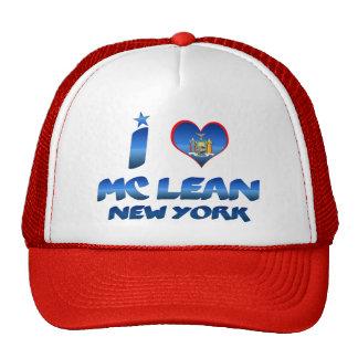 I love Mc Lean, New York Trucker Hat