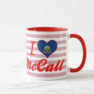 I Love McCall, Idaho Mug