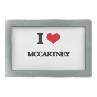 I Love Mccartney Belt Buckle