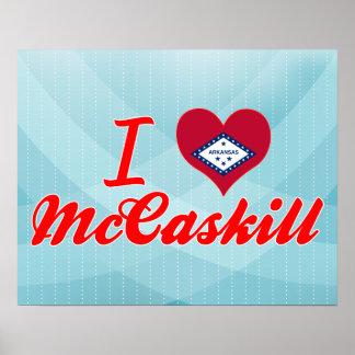 I Love McCaskill, Arkansas Print