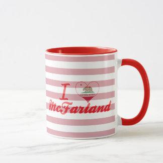 I Love McFarland, California Mug