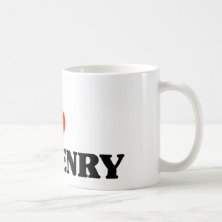 I love Mchenry Classic White Coffee Mug