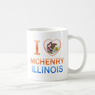 I Love McHenry, IL Classic White Coffee Mug