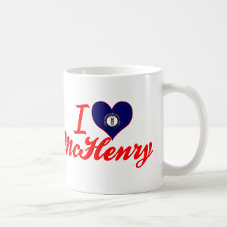 I Love McHenry, Kentucky Classic White Coffee Mug