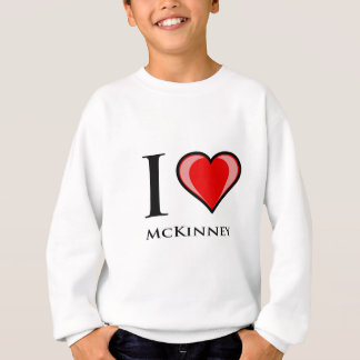I Love McKinney Sweatshirt