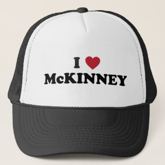 I Love McKinney Texas Trucker Hat