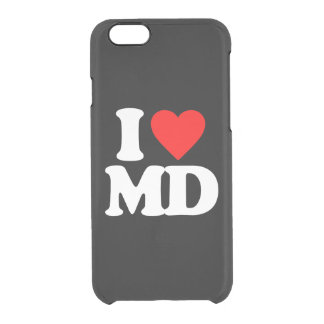 I LOVE MD CLEAR iPhone 6/6S CASE
