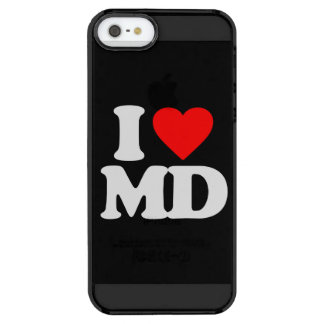 I LOVE MD CLEAR iPhone SE/5/5s CASE