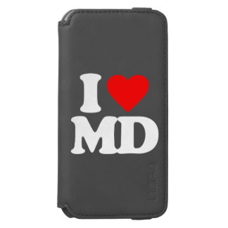I LOVE MD iPhone 6/6S WALLET CASE