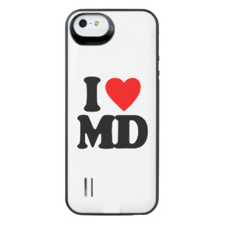I LOVE MD iPhone SE/5/5s BATTERY CASE