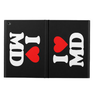 I LOVE MD POWIS iPad AIR 2 CASE