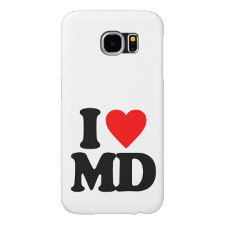 I LOVE MD SAMSUNG GALAXY S6 CASES