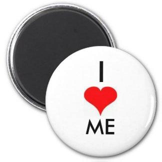 I Love Me 2 Inch Round Magnet