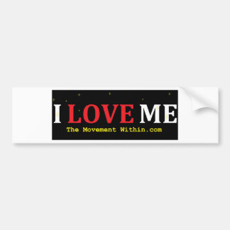 I Love Me Bumper Sticker