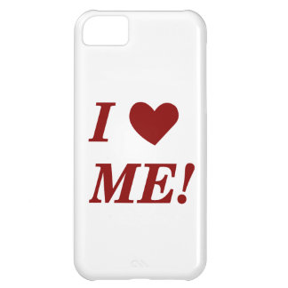 I Love Me - Dark Red Case For iPhone 5C