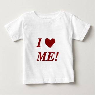 I Love Me - Dark Red Tee Shirt