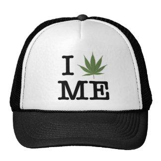 I LOVE ME Hat (Marijuana Leaf)
