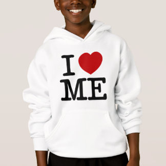 I Love Me Heart Me self esteem confidence dignity Hoodie