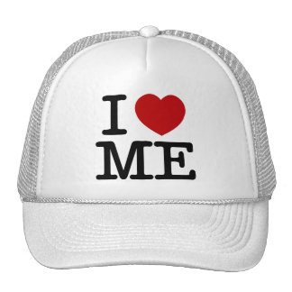 I Love Me Heart Me self esteem confidence dignity Trucker Hat