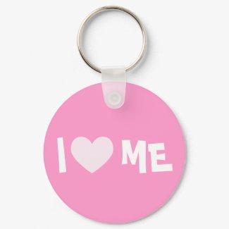 I Love ME Keychain keychain