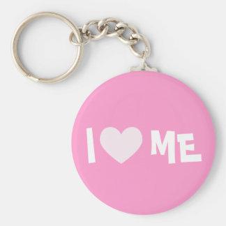 I Love ME Keychain