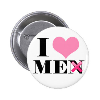 I Love ME (men) Button