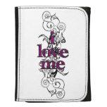 I Love Me (pink/white) Wallets