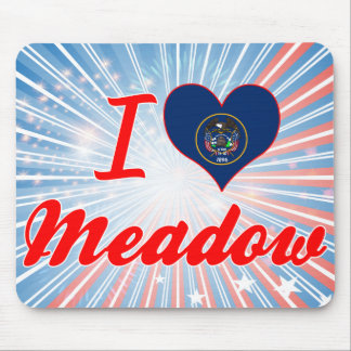 I Love Meadow, Utah Mouse Pad