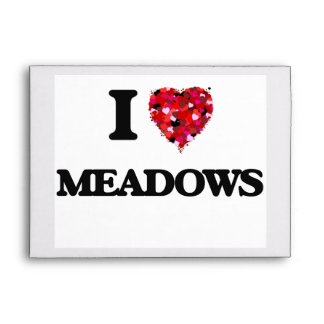 I Love Meadows Envelope