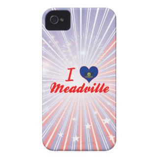 I Love Meadville, Pennsylvania Case-Mate iPhone 4 Cases