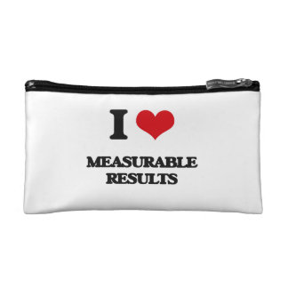I Love Measurable Results Cosmetic Bag