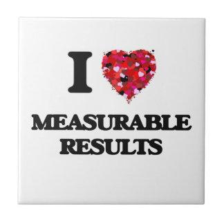 I Love Measurable Results Ceramic Tile