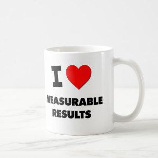 I Love Measurable Results Coffee Mugs