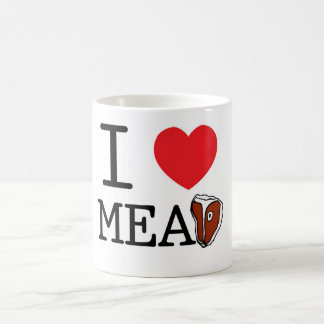 I Love Meat Coffee Mug