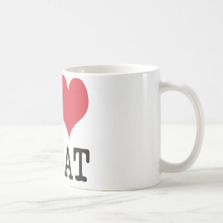 I Love Meat Food Fish Producst & Designs! Coffee Mug