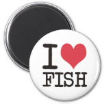 I Love Meat Food Fish Producst & Designs! Fridge Magnets