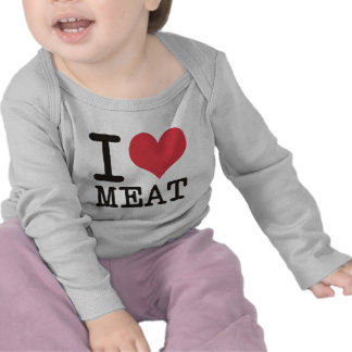 I Love Meat Food Fish Producst & Designs! Shirt