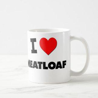 I Love Meatloaf Coffee Mug