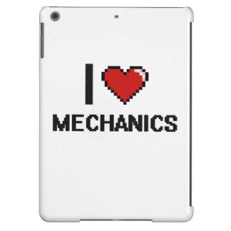 I love Mechanics iPad Air Covers