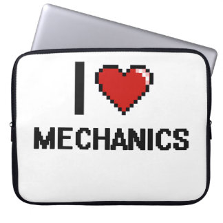 I love Mechanics Computer Sleeves